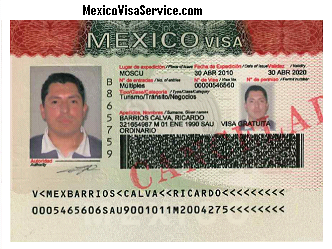 Temporary Mexico Resident Visa